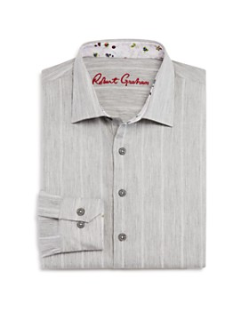 Robert Graham - Boys' Striped Dress Shirt - Big Kid