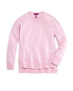 AQUA - Girls' Cashmere Sweater, Big Kid - 100% Exclusive