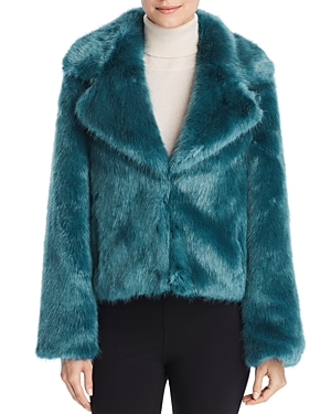 Unreal Fur Madam Butterfly Faux Fur Jacket
