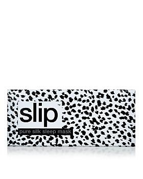slip - Limited Edition Leopard Silk Eye Mask