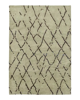 """Solo Rugs - Rabat Hand-Knotted Area Rug, 6'3"""" x 9'1"""""""