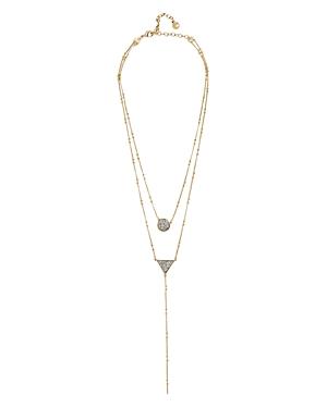Baublebar Kera Druzy Layered Lariat Necklace, 19
