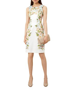 HOBBS LONDON - Fiona Floral Print Dress