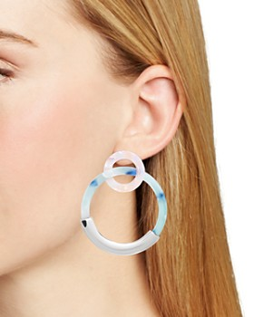 BAUBLEBAR - Daniya Resin Hoop Earrings