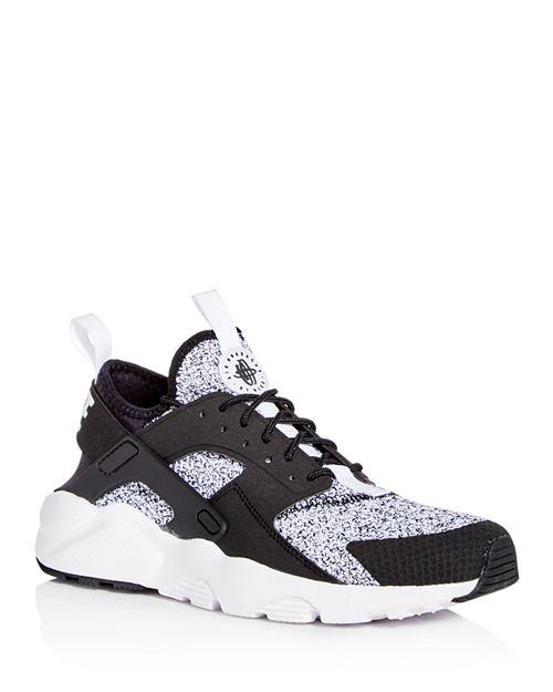 sale retailer 5fff3 a95a8 ... where can i buy nike mens air huarache run ultra knit lace up sneakers  39bae 7647a