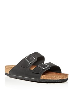 Birkenstock - Men's Arizona Oiled Leather Slide Sandals