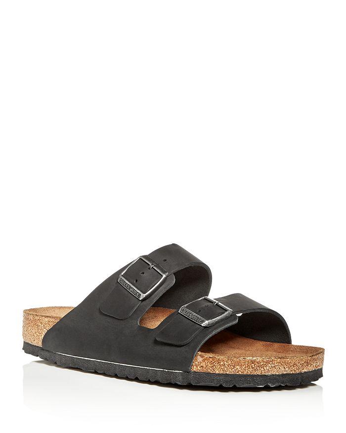 Birkenstock - Men's Arizona Oiled Leather Slide Sandals
