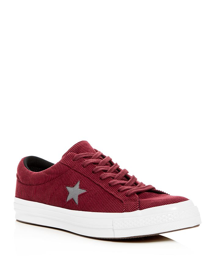Converse - Men's One Star Corduroy Lace-Up Sneakers