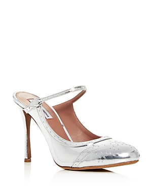 Tabitha Simmons Women's Alyce Patent Leather High-Heel Mules