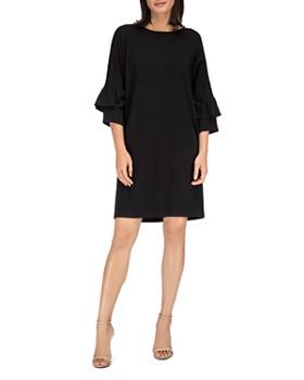 B Collection by Bobeau - Idalia Tiered Bell Sleeve Dress