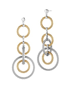 ALOR - Cable Drop Earrings
