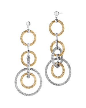 CABLE DROP EARRINGS