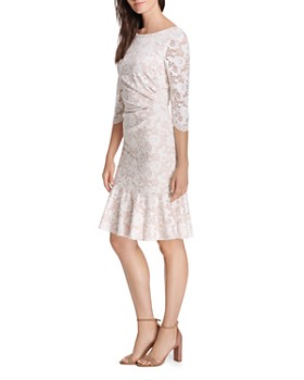Eliza J - Draped Lace Dress