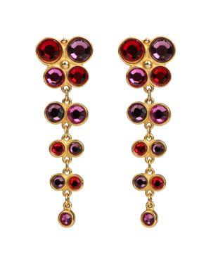 Ben Amun Multi Color Clip-On Earrings