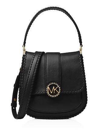 c19b06651520 MICHAEL Michael Kors Lillie Medium Leather Crossbody Messenger Bag ...