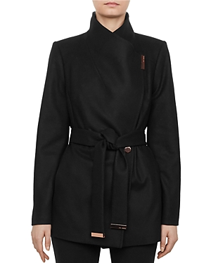 Ted Baker Rytaa Short Belted Wrap Coat