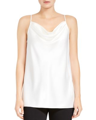 Cowl Neck Satin Cami by Halston Heritage