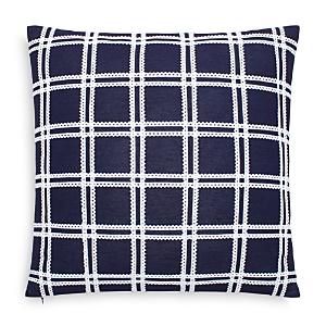 kate spade new york Ric Rac Grid Decorative Pillow, 18 x 18