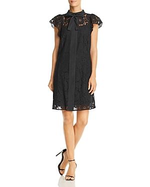 nanette Nanette Lepore Cap Sleeve Lace Shift Dress