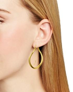 Chan Luu - Large Bypass Threader Hoop Earrings