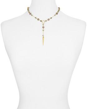 "Chan Luu - Lariat Pendant Necklace, 14"""