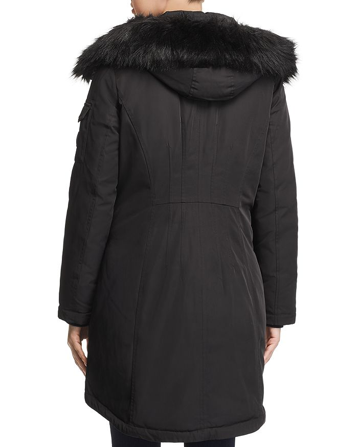 5b858befc MICHAEL Faux Fur Trim Parka