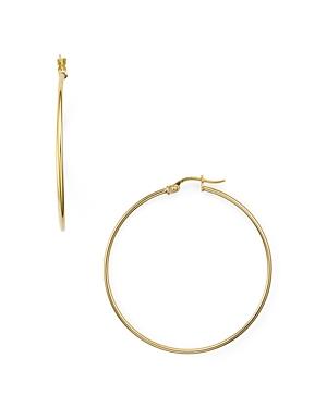 Aqua Medium Hoop Earrings in 18K Gold-Plated Sterling Silver - 100% Exclusive