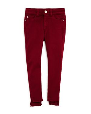 DL1961 Girls' Red Chloe Skinny Jeans - Little Kid