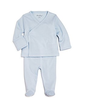 Kissy Kissy - Boys' Pointelle Take Me Home Shirt & Footie Pants Set - Baby