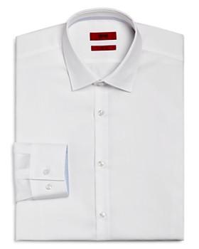 HUGO - Contrast Cuff Slim Fit Dress Shirt