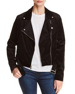 e884d9ab868d MICHAEL Michael Kors Leather Moto Jacket