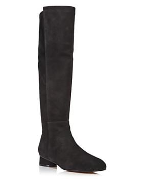 Stuart Weitzman - Women's Eloise 30 Almond Toe Suede Boots