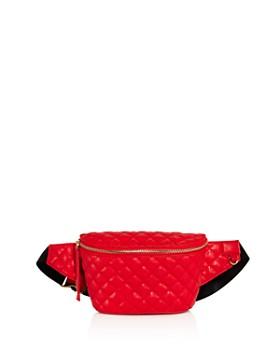 AQUA - Medium Quilted Belt Bag - 100% Exclusive