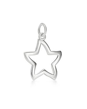 Dodo Sterling Silver Starfish Silhouette Charm