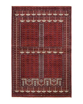"""Solo Rugs - Modern 10 Hand-Knotted Area Rug, 4'2"""" x 6'3"""""""