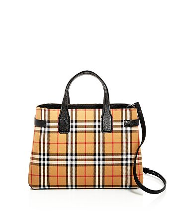 20bf6d46b29db7 Burberry - Vintage Check Medium Banner Bag