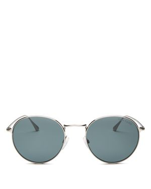 Tom Ford Men's Round Sunglasses, 53mm