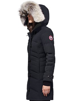 Canada Goose - Lorette Coyote Fur Trim Down Coat