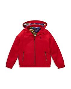 Ralph Lauren - Boys' Packable Windbreaker Jacket - Big Kid