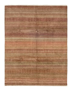 """Solo Rugs - Savannah Preston Hand-Knotted Area Rug, 8' 0"""" x 10' 4"""""""