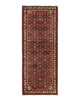 """Solo Rugs - Hamadan Adria Hand-Knotted Runner Rug, 2'9"""" x 7'0"""""""