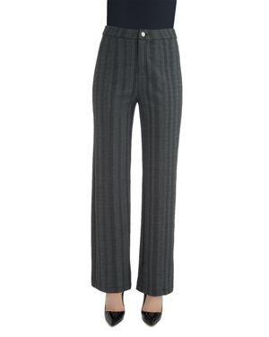 LYSSÉ Jackie Herringbone-Stripe Pants in Stripe Herringbone