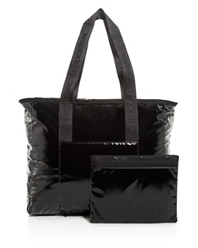 LeSportsac - Candace North/South Faux Patent Leather Tote