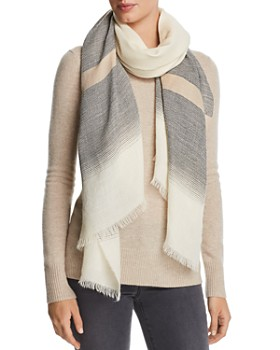Eileen Fisher - Striped Alpaca Scarf
