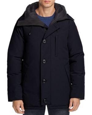 Chateau Down-Filled Parka in Black