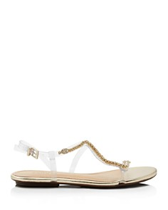 SCHUTZ - Women's Gabbyl Open Toe Embellished Sandals