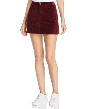 Port Velour Viper Mini Skirt