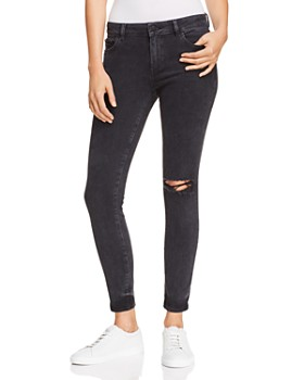 DL1961 - Margaux Mid Rise Instasculpt Skinny Ankle Jeans in Hyde