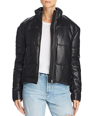 Veda Sharpe Leather Puffer Coat - 100% Exclusive