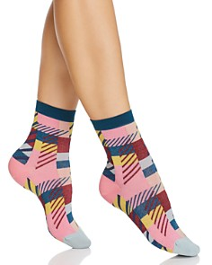 Happy Socks Hysteria Daria Ankle Socks - Bloomingdale's_0